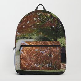 Fall time at the farm Backpack