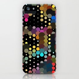 forest of dots iPhone Case