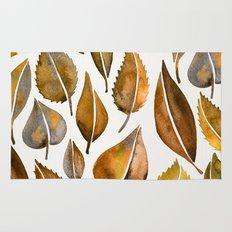 Rusty Leaves Rug