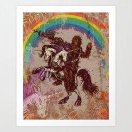 Chewni Art Print
