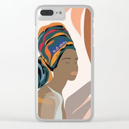 Women with the Turbans Clear iPhone Case