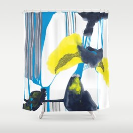 flashflood Shower Curtain