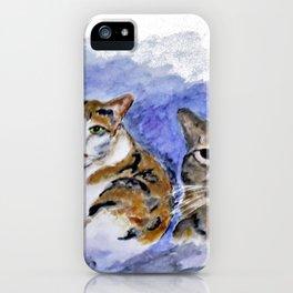 Cat Pals iPhone Case