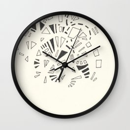 Composition #4 2016 Wall Clock