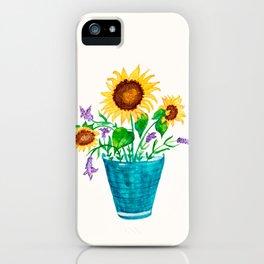Sunflowers Summer Dream iPhone Case