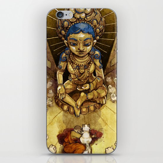 Sacred Cats of Burma iPhone & iPod Skin