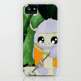 yeti of the night iPhone Case