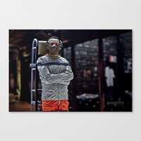 silence of the lambs Canvas Prints featuring The Silence of the Lambs by TJAguilar Photos