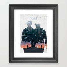 True Detective - The Long Bright Dark Framed Art Print