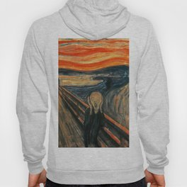 The Scream by Edvard Munch Hoody