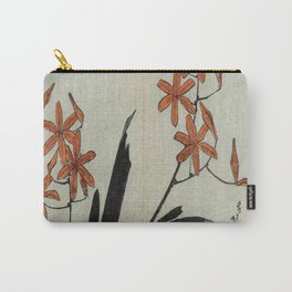 Hokusai, red orchid -manga, japan,hokusai,japanese,北斎,ミュージシャン Carry-All Pouch