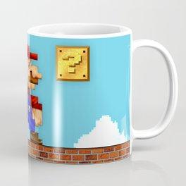 Super Mario Pixelated Realism Coffee Mug