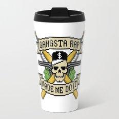Gangsta Rap Made Me Do It Travel Mug