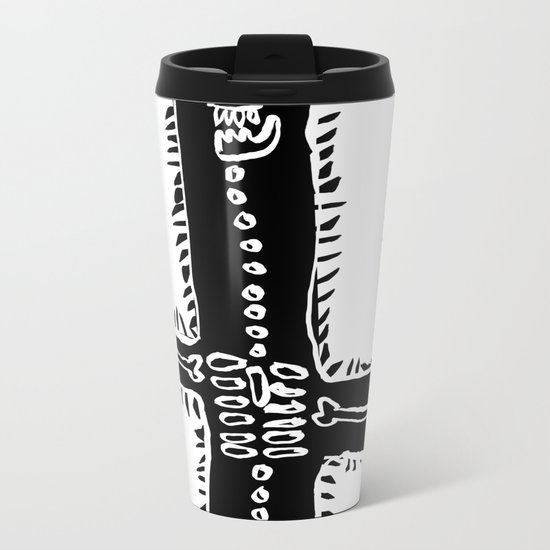 Cactus&Bones Metal Travel Mug