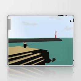 Island Fishing Laptop & iPad Skin