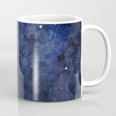 Night Sky Stars Galaxy | Watercolor Nebula Mug