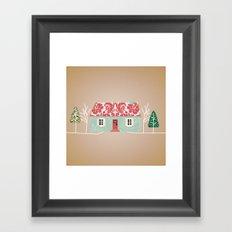 Home is Where the Art Is.  Framed Art Print