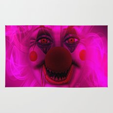 Cotton Candy Clown Rug