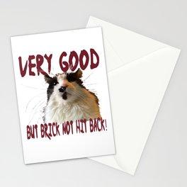 Bloodsport Cat Stationery Cards