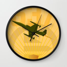Starfighter 637 Wall Clock