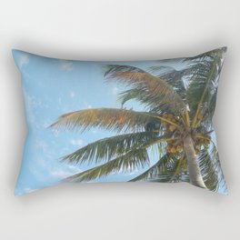 Sunny Palm Rectangular Pillow