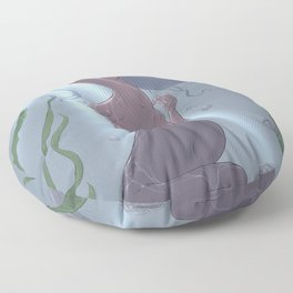 little mermaid Floor Pillow