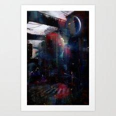 Back to Omega Centauri Art Print