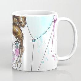 I Let Go of My Glass Balloon Coffee Mug