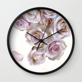 ROSES OF LIGHT Wall Clock