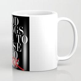 Good Things (Black) Coffee Mug