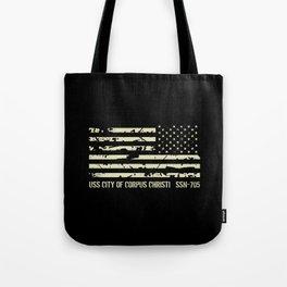 USS City of Corpus Christi Tote Bag