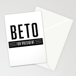Beto 2020 | Beto Orourke For President | Vote O Rourke Campaign Sticker Stationery Cards