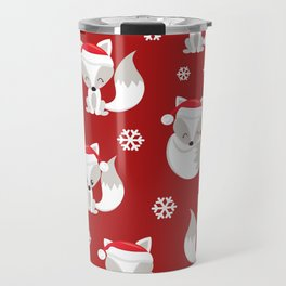 THE SPELL OF THE CHRISTMAS FOXES Travel Mug