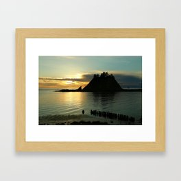 Waiting For The Night Framed Art Print