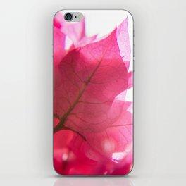 Bright Bougainvillea iPhone Skin