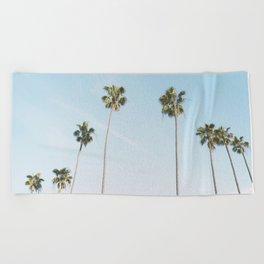 Beach Palms Beach Towel