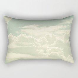 As the Clouds Gathered Rectangular Pillow