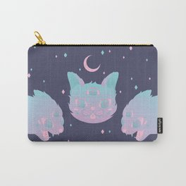 Pastel Cat Carry-All Pouch