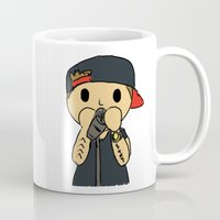 liam payne Mugs featuring Liam by clevernessofyou