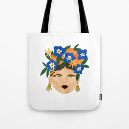 Benu Made Earings Tote Bag