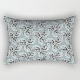Tessellating monster pattern Rectangular Pillow