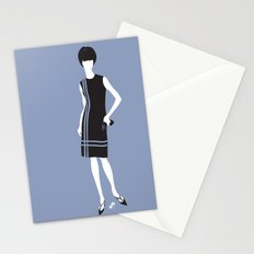lady 6 Stationery Cards