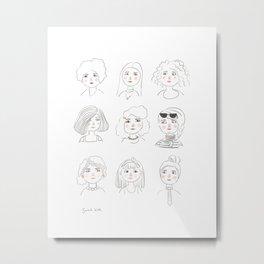 Women No. 1 Metal Print
