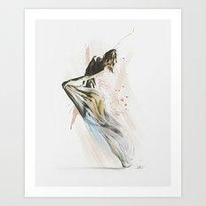 Drift Contemporary Dance Art Print