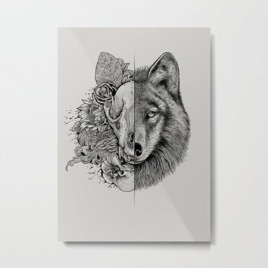 New Wolf (Half Life) Metal Print