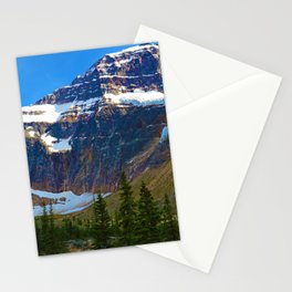 Mt. Edith Cavell in Jasper National Park, Canada Stationery Cards