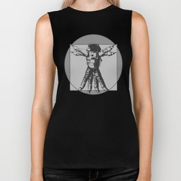 Vitruvian with spacer flair on Grey Biker Tank