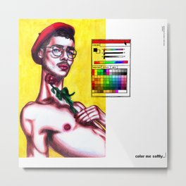 colorize Metal Print