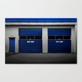 BodyShop Canvas Print