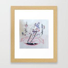 Bhoeda olifant eren Framed Art Print